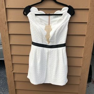 Three Floor off the shoulder dress! Size S!